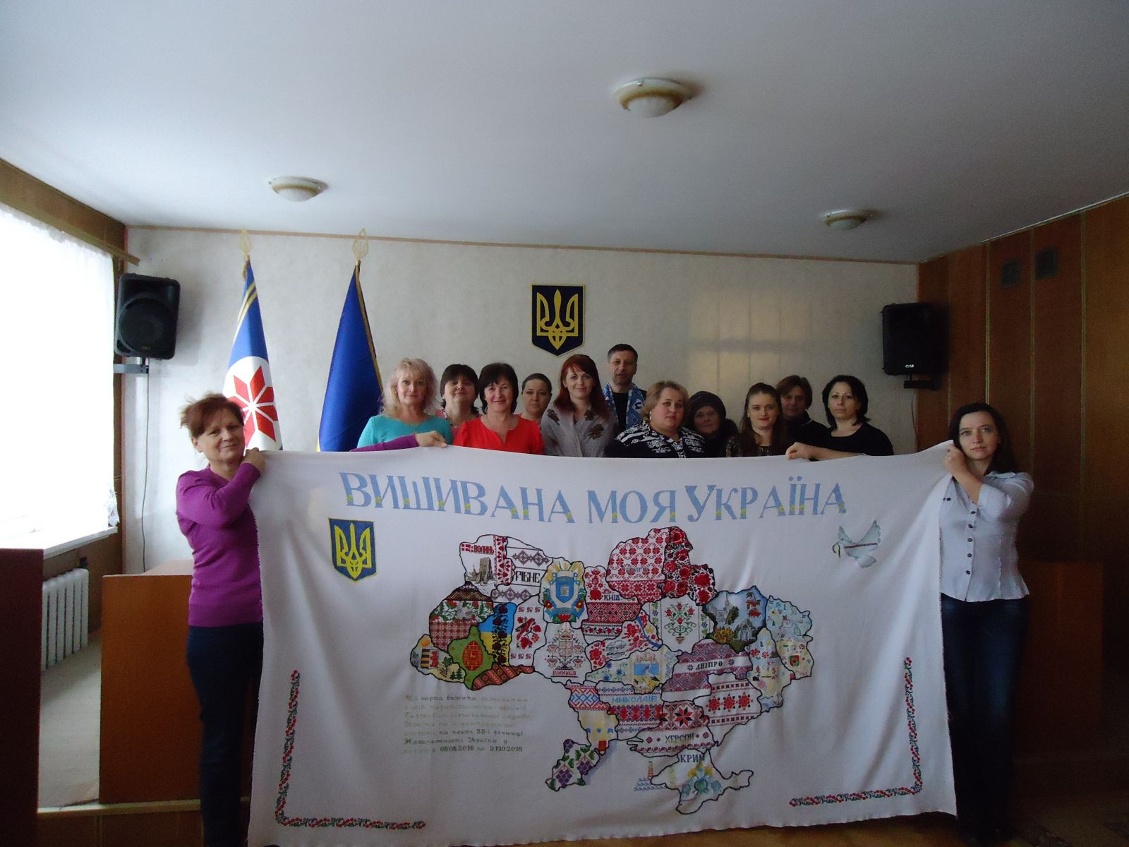 Карта «Вишивана моя Україна» на Маньківщині cb759e6815338